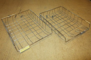 Ablagekorb, Akten, Metall, DIN A4