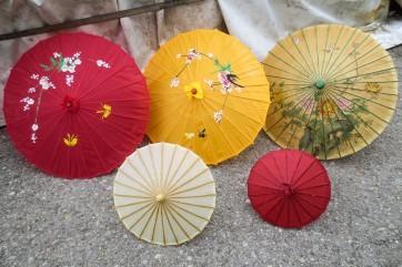 Schirm, chinesisch, Papier, Deko
