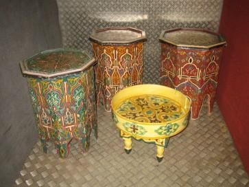 Beistelltischchen marokkanisch, 6 eckig