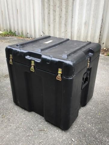 Kunststoffbox, schwarz, klein