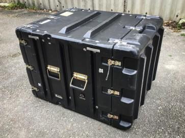 Kunststoffbox, schwarz, groß