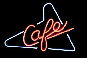 Neonleuchte Cafe