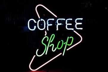 Neonleuchte Coffee Shop