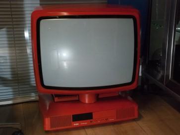 Fernseher, SABA, Challenger, rot