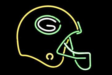 Neonleuchte Football Helm