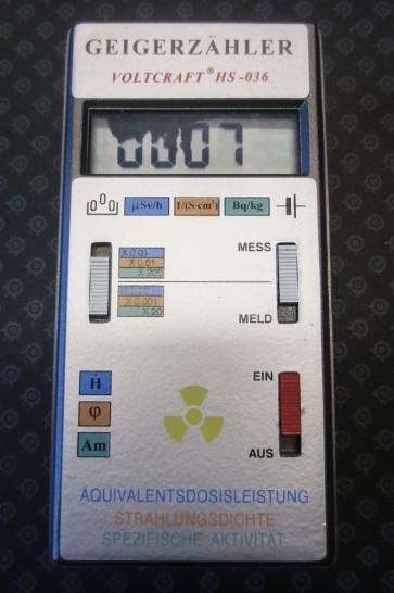 Geigerzähler, Grenzwertmesser, VOLTCRAFT, klein