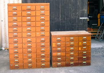 Schrank, Schubladenschrank, Holz