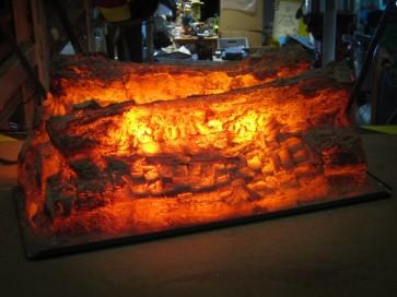 Kaminfeuer, elektrisch