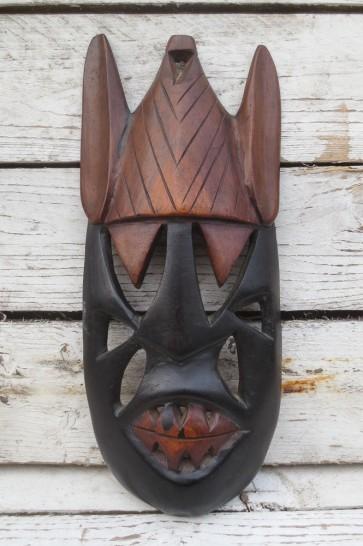 Holzmaske, klein