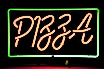 Neonleuchte Pizza