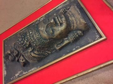 Reliefbild, Buddha