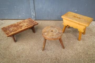 Schemel, Tritt, Hocker, Holz