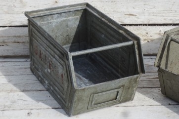 Metallkiste, Sortierkiste, klein