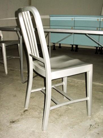 Stuhl, Alu, Navy Chair