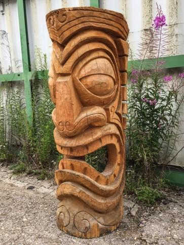 Maske Tiki, Holz, groß