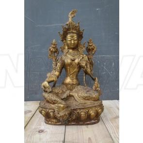 Messingfigur, buddhistisch