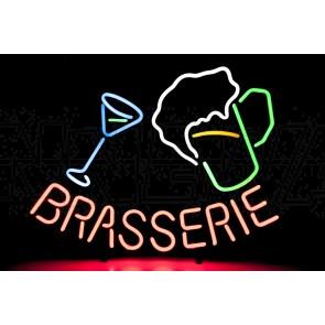 Neonleuchte Brasserie