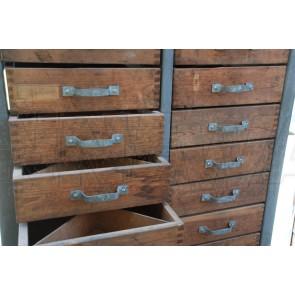 Werkstattschrank, Schubladenschrank, Industrie Style