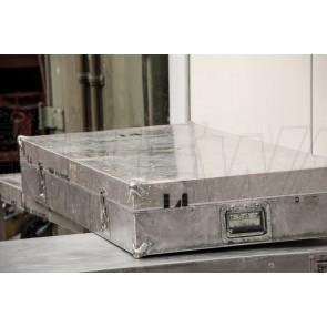 Tisch, Aluminiumkoffer, 2-teilig