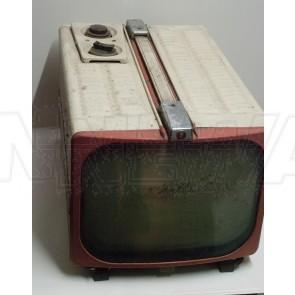 Fernseher, PYE, beige, rotbraun