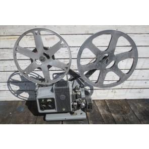 Filmprojektor, 16 mm, grau / grün