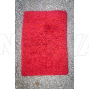 Teppich, Flokati, klein, rot, magenta