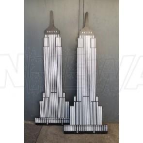 Empirestatebuilding, Aufsteller, Holz