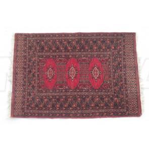 Teppich, Orientteppich, Brücke, rot schwarz