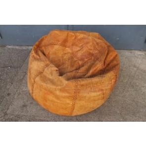 Sitzsack, Leder, braun oder schwarz