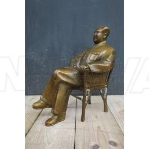 Mao Tse Tung, Messingfigur