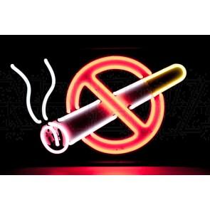 """Neonleuchte """"rauchverbot"""""""