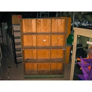 Regal, Werkstattregal, Holz, grün
