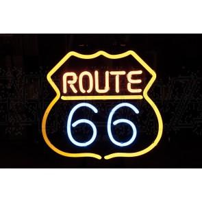 Neonleuchte, Route 66