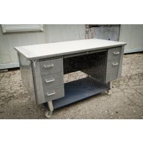 Schreibtisch US Metall, Fullsize