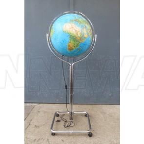 Globus, Schulungsglobus auf Chromfuß