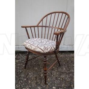 Stuhl, dänisch Design, Holz, mit Sitzpolster