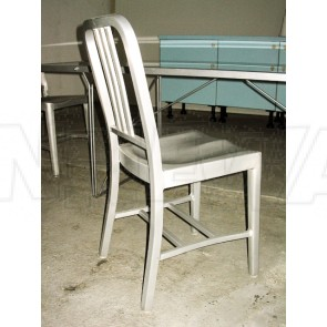 Stuhl, Alu, Navy Chair