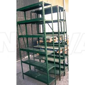 Werkstattregal Metall, grün